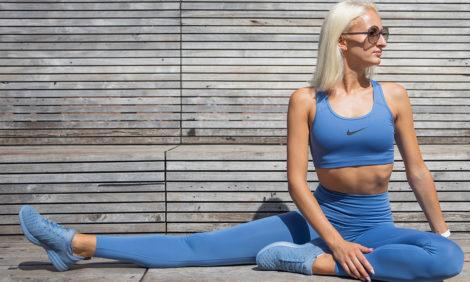 Фитнес дома с Юлией Алексеевой: упражнения на мышцы ног, ягодиц и живота