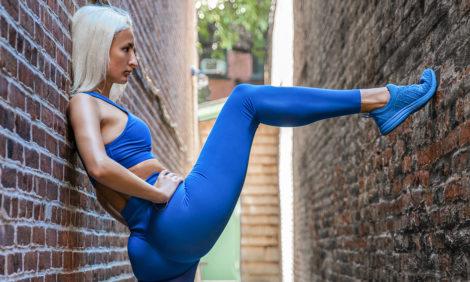 Фитнес дома с Юлией Алексеевой: упражнения для мышц ног и ягодиц