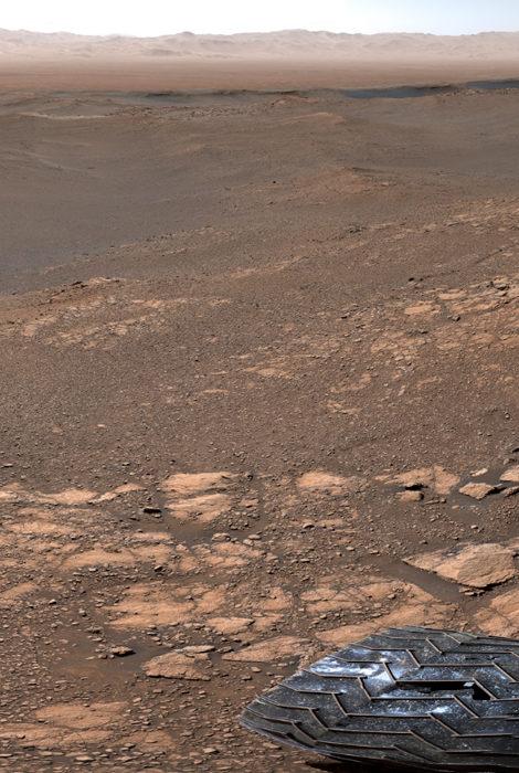 Марс в деталях: NASA выложило фотографию поверхности Красной планеты в высоком разрешении