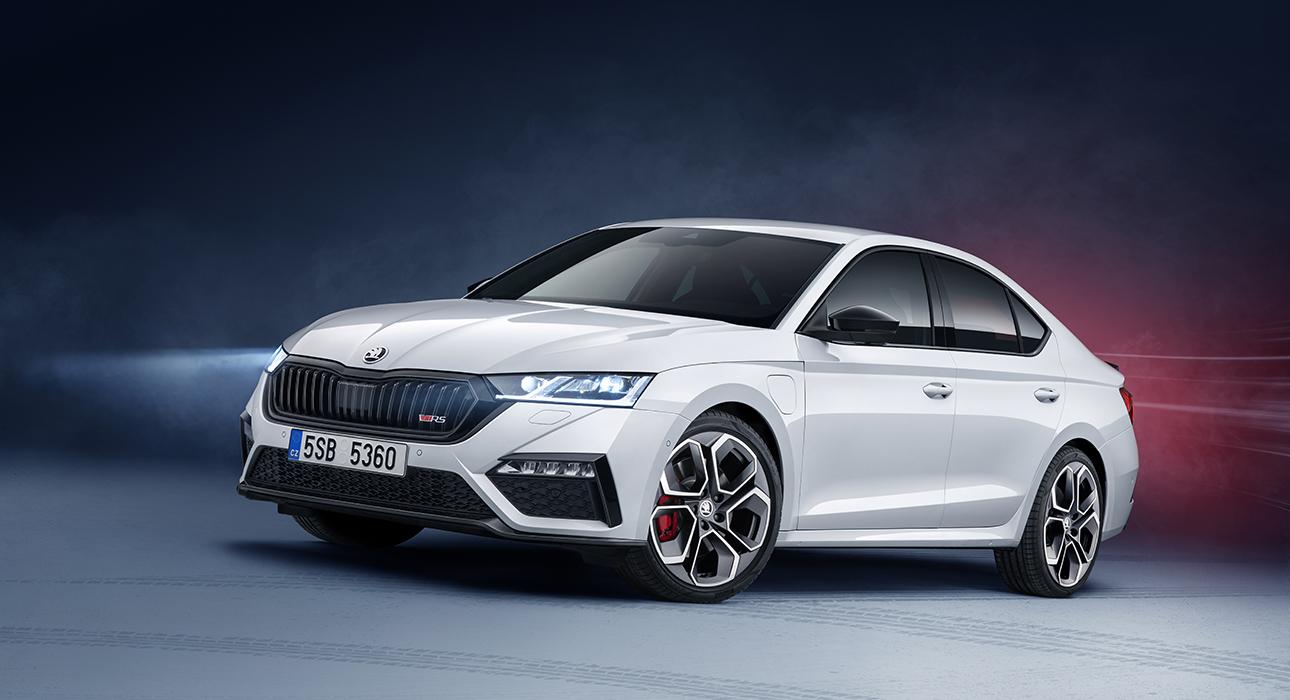 Женевский автосалон 2020: Škoda Octavia Rs iV
