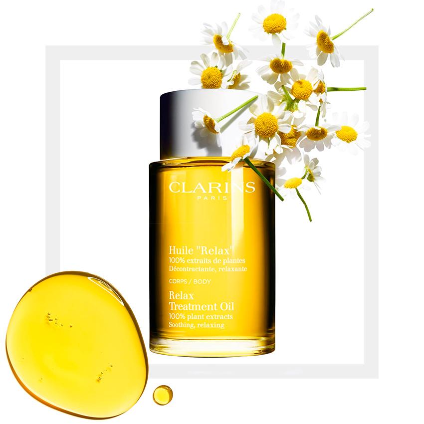 Расслабляющее масло для тела Clarins Relax Oil