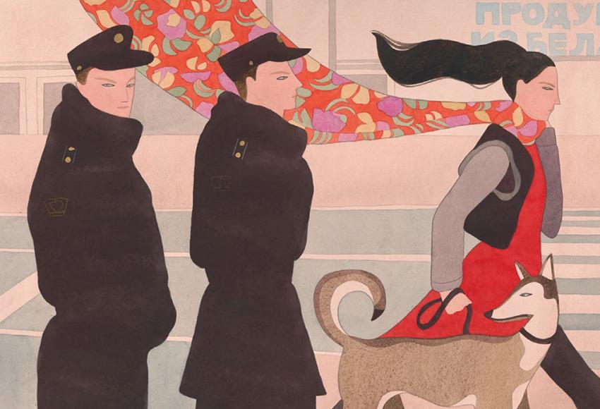 Louis Vuitton Travel Book: Санкт-Петербург глазами иллюстратора Келли Биман