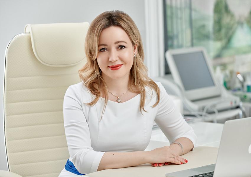 Елена Гольцова, врач-косметолог, главный врач GG beauty, к.м.н.