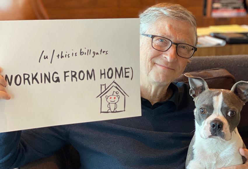 Билл Гейтс,  предприниматель, филантроп, один из создателей Microsoft