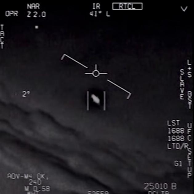 Пентагон выложил в сеть три видео с НЛО и признал их подлинность