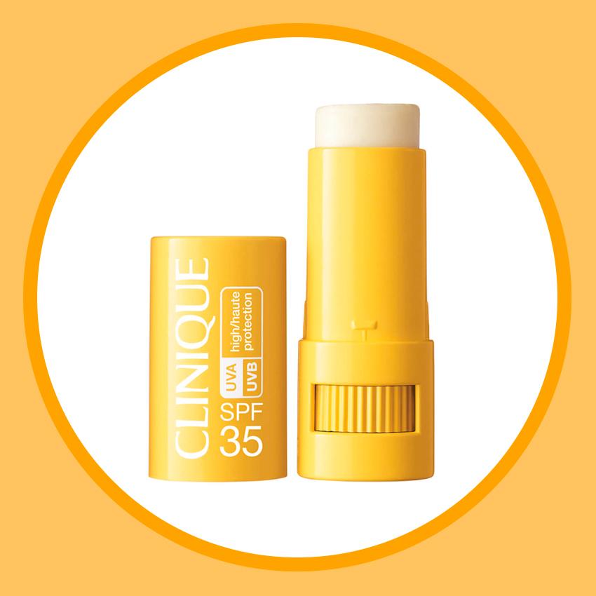 Солнцезащитный стик для чувствительной кожи Targeted Protection Stick, SPF 35, Clinique