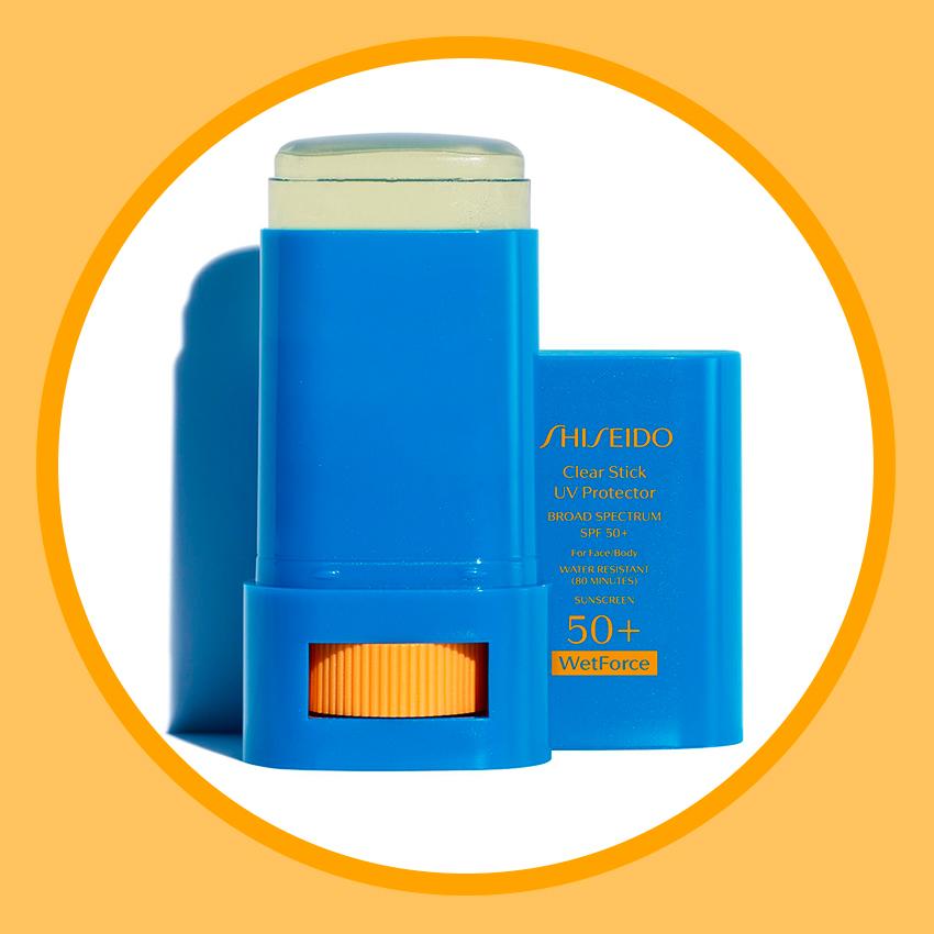 Прозрачный солнцезащитный стик для лица Suncare Clear Stick UV Protector, SPF 50+, Shiseido