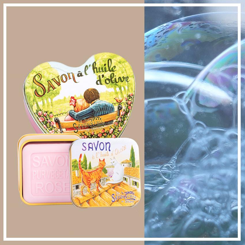 Марсельское мыло в коробке, La Savonnerie de Nyons