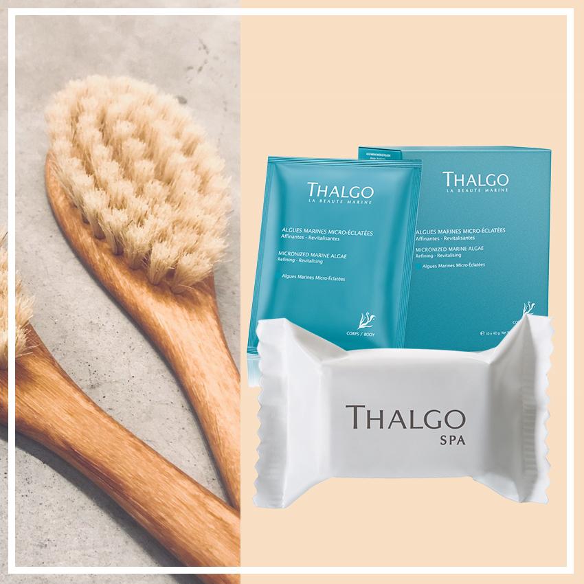 Микронизированные морские водоросли, Thalgo. Молочная ванна «Шипучий сахарный порошок», Thalgo