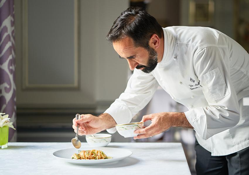 Рецепт весенней карбонары из отеля Four Seasons Hotel Florence