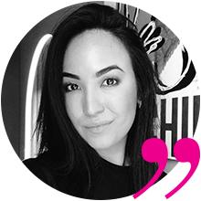 Юлия Тарапатова,  ведущий мастер touch-up bar Peng