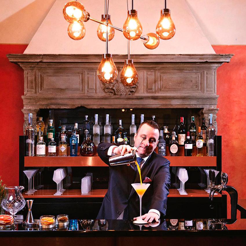 Рецепт Tiramisù cocktail  из отеля Four Seasons Hotel Milan