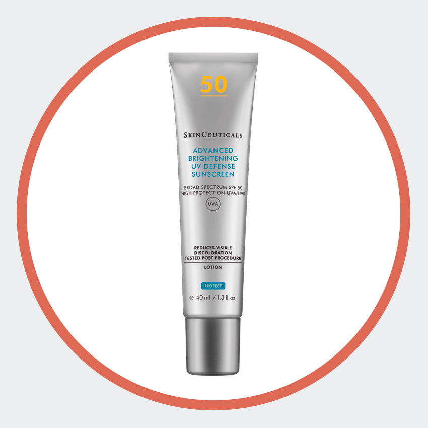 Крем для ровного тона кожи Advanced Brightening UV Defense, SPF 50, SkinCeuticals