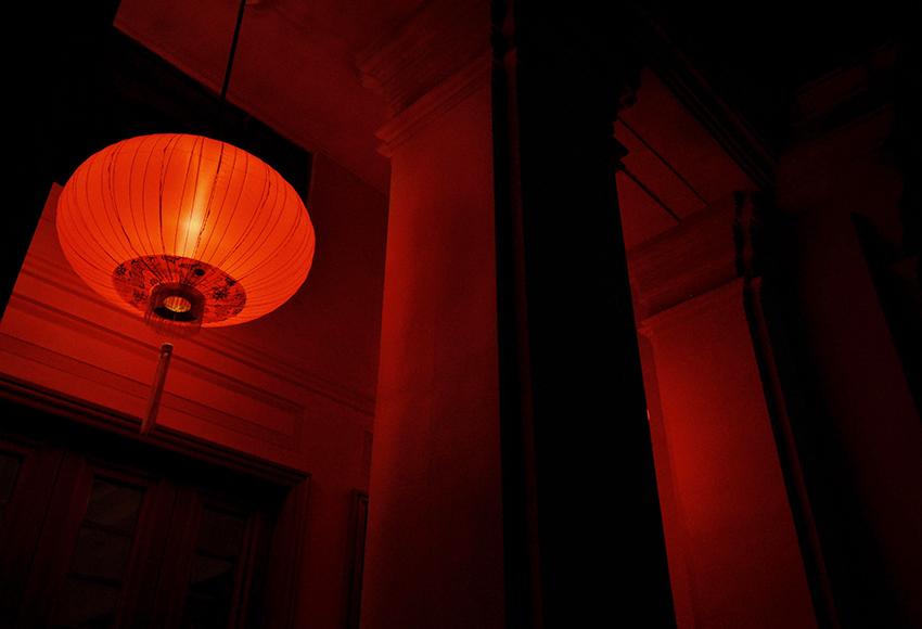 Красное освещение