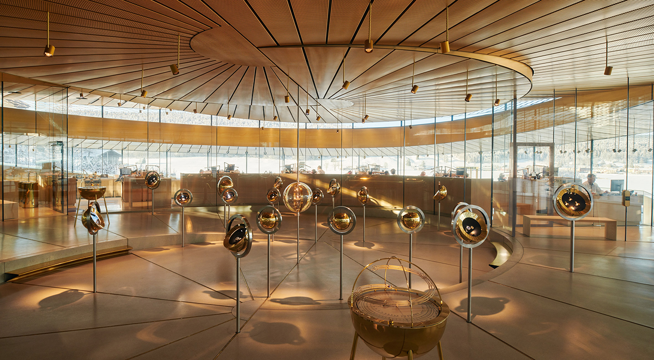 Каким будет новый музей Audemars Piguet в Вале де Жу