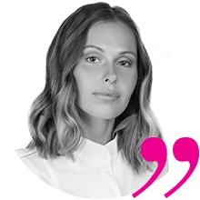Анастасия Стрижова, инструктор по маникюру, педикюру, моделированию и дизайну ногтей, ведущий технолог Kinetics