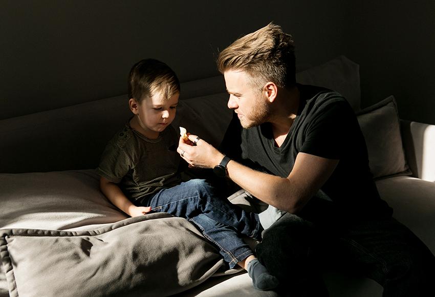 #PostaKidsGourmet: Владимир Чистяков и его трехлетний сын Виктор