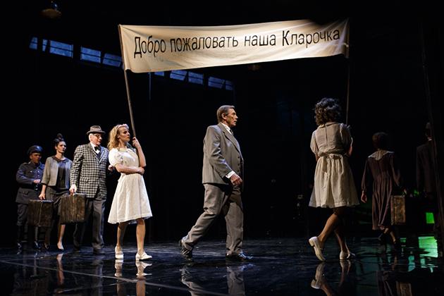 24 апреля добро пожаловать на спектакль «Визит старой дамы» по пьесе швейцарского драматурга и публициста Фридриха Дюрренматта