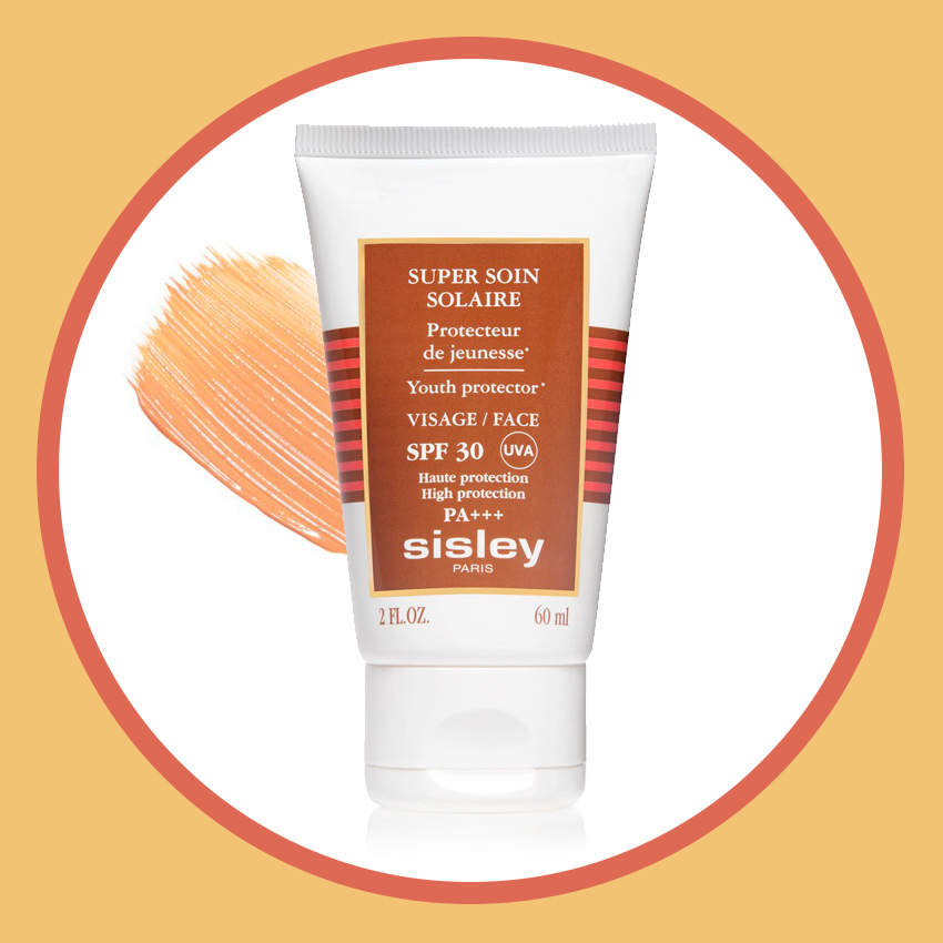 Шелковистый суперкрем для тела Super Soin Solaire Silky Body Cream, SPF 30, Sisley