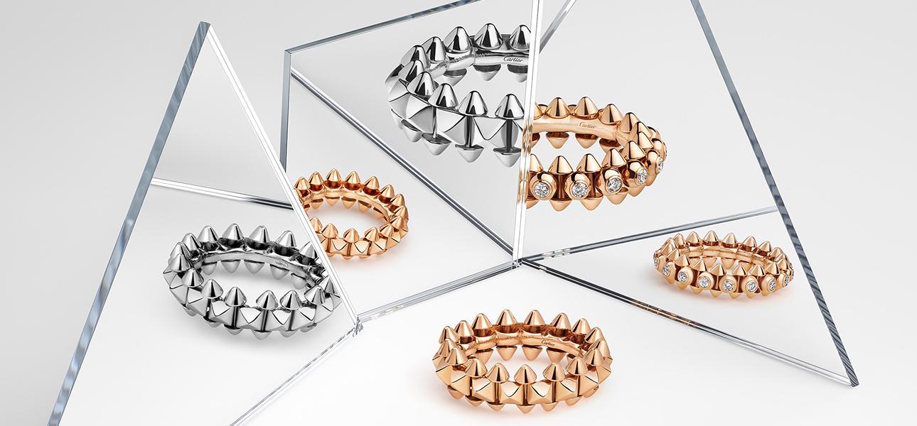 Новинки ювелирной коллекции Clash de Cartier