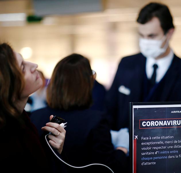 Air France и французские железные дороги требуют обязательного ношения масок