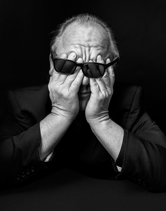 Британец Том Олдхем представил на конкурс черно-белый портрет фронтмена альтернативной группы Pixies Чарльза Томпсона (он же Черный Фрэнсис).