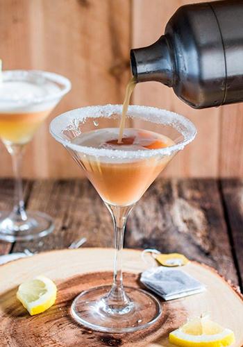 Рецепт Tea Cocktail из бара The Bvlgari Bar Tokyo