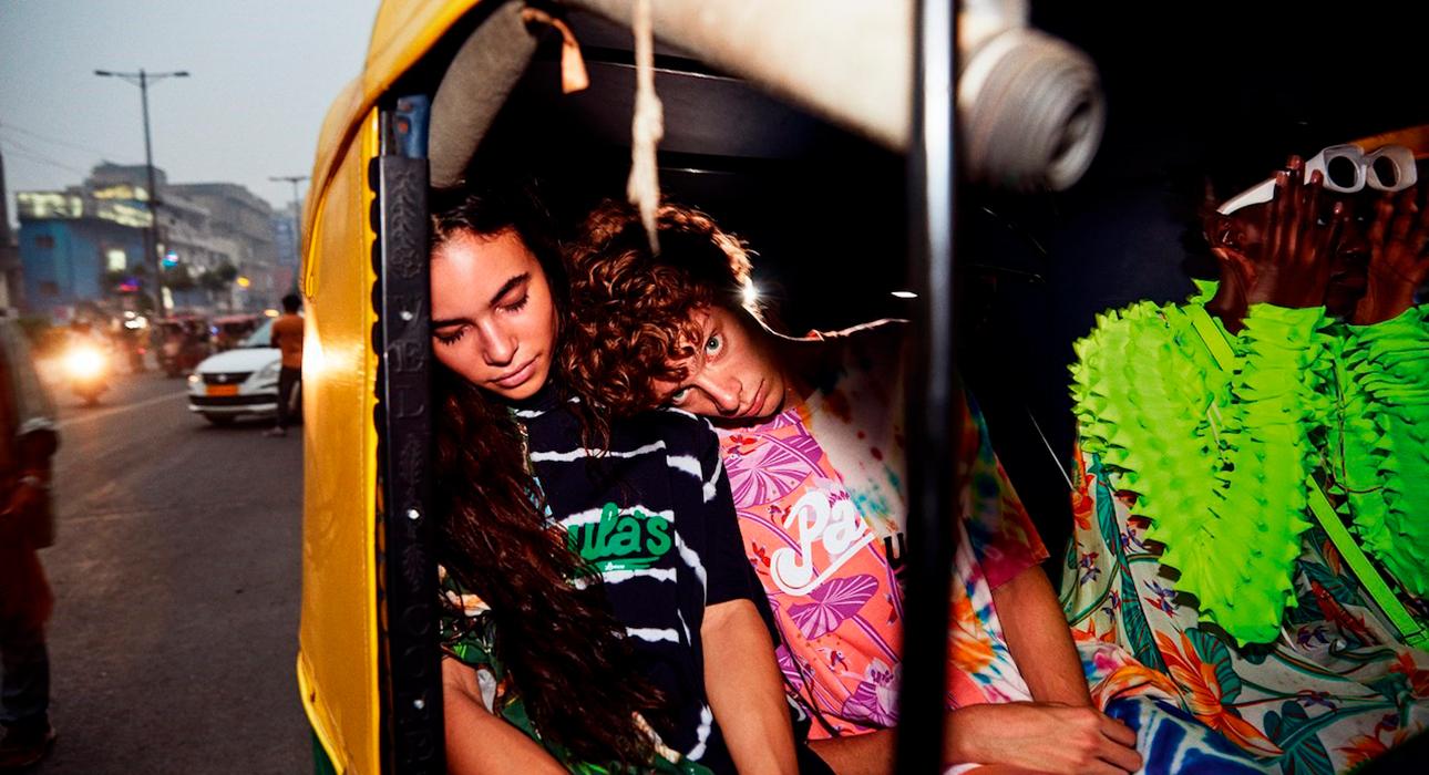 Ибица навсегда: яркий лукбук очередной коллаборации Loewe с Paula's Ibiza