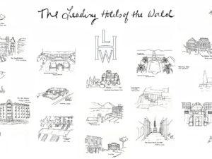 Мир в цвете: The Leading Hotels of the World выпустили собственную раскраску
