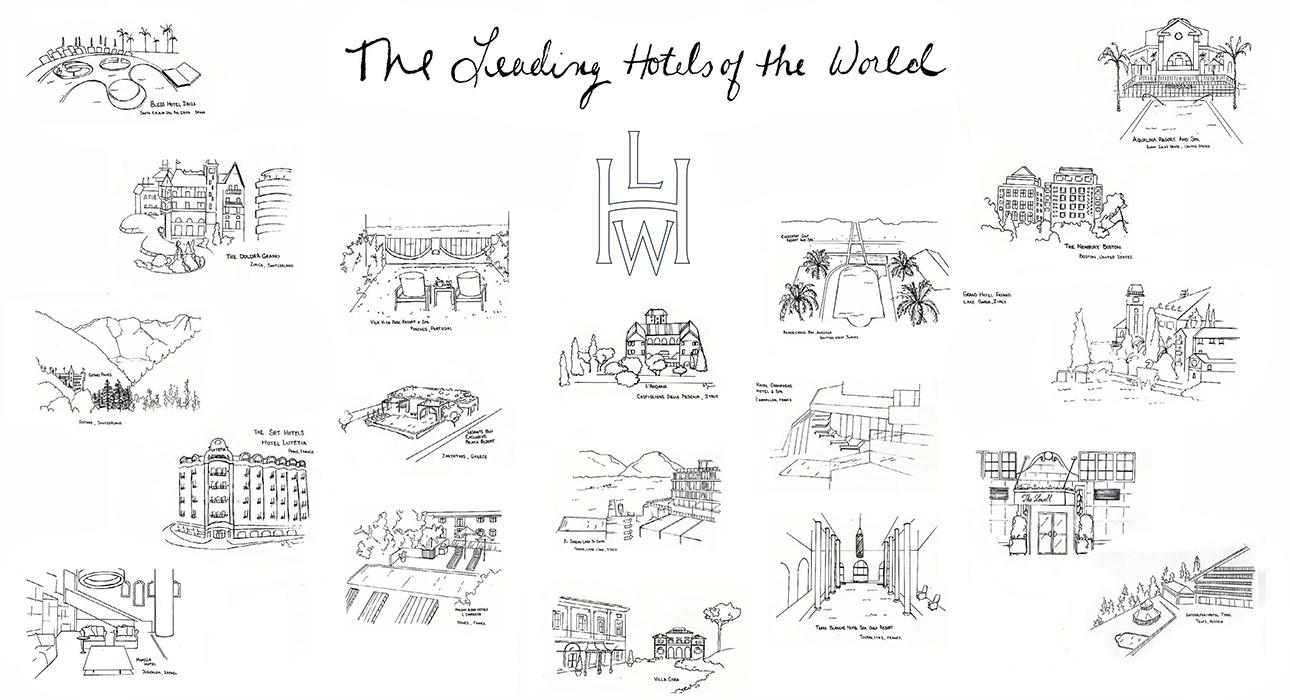 Мир в цвете: отельная группа LHW выпустила собственную раскраску