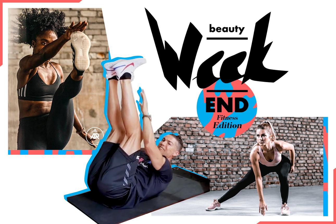 Фитнес-уикенд: онлайн-тренировки со спортивными брендами
