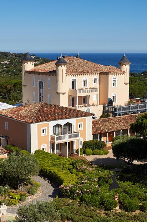 Идея на каникулы: обновленный отель Château de la Messardière в Сен-Тропе