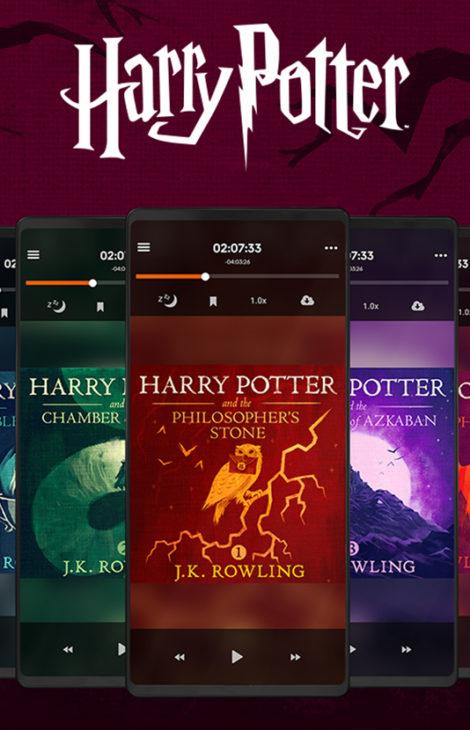 Аудиоверсия серии книг о Гарри Поттере, озвученная Стивеном Фраем, появится на Storytel