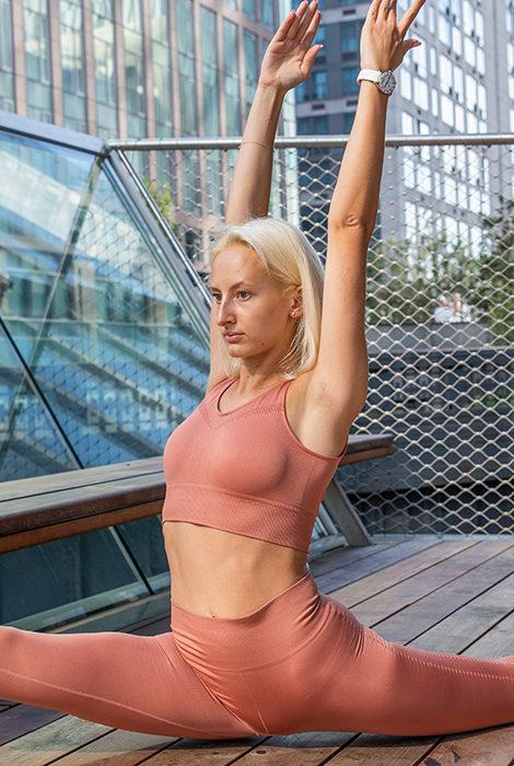 Фитнес дома с Юлией Алексеевой: растяжка