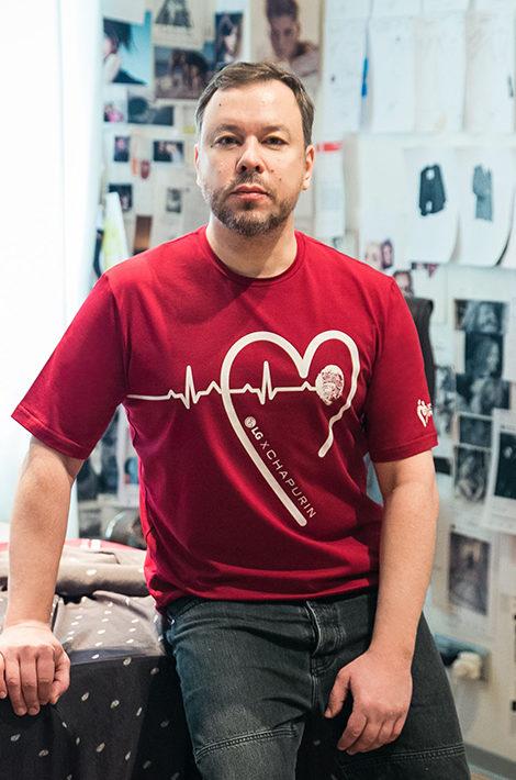 #ДНКДобра: Игорь Чапурин создал футболки для доноров и волонтеров
