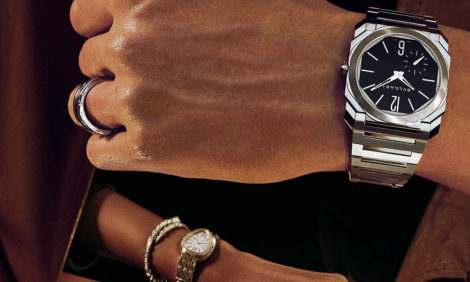 Часы & Караты: самые маленькие женские часы с турбийоном и другие новинки Bvlgari