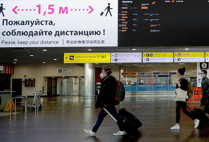 Росавиация не включила в свои рекомендации дистанцию между пассажирами в салоне