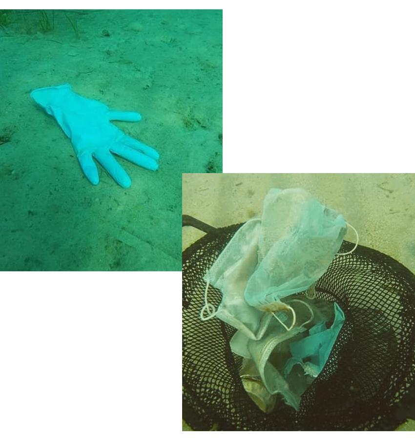 Пока ученые Израильского технологического института Технион в Хайфе с гордостью рапортуют об изобретении самоочищающейся маски против COVID-19, активисты французской природоохранной неправительственной организации по сохранению и восстановлению морского дна, озер и водотоков путем сбора попавших в них отходов, бьют тревогу. В результате беспрецедентного использования одноразовых масок и перчаток происходит серьезное загрязнение окружающей среды большим количеством пластика и других синтетических материалов, которые устойчивы к воздействию жидкостей и очень медленно разлагаются!  На видео, снятом французскими экоактивистами в рамках программы Mer Propre в Средиземном море, видны маски и перчатки на морском дне, которые были обнаружены во время очистки побережья недалеко от курорта Антиб на Лазурном берегу. В прибрежных водах Гольф-Жуана было обнаружено пять одноразовых масок для лица и две пары латексных перчаток наряду с пластиковыми бутылками. Экологи не на шутку встревожены таким «симптомом» коронавариуса, которой усугубляет и без того сложную ситуацию «пластикового» загрязнения водоемов планеты. По их прогнозам, нас ждет волна нового типа загрязнения окружающей среды, которая неизбежно накроет мир после того, как схлынет цунами COVID-19.  Подтверждением этому может служить и тот факт, что 14 мая, всего через несколько дней после отмены блокировки во Франции, парижские дворники жаловались в соцсетях на большое количество масок, выброшенных на тротуары города и покрывших их словно снег. Чтобы как-то остановить мусорное загрязнение, французский политик Эрик Пауге предложил законопроект об увеличении штрафа за засорение мест общественного пользования медицинскими масками. Если инициатива будет поддержана, то впредь виновых будут штрафовать в размере 300 евро вместо нынешних 68 евро.  Печальная реальность, увы: с одной стороны, выбросы углекислого газа в условиях пандемии резко сократились на всей планете, с другой — только за один день в Ухане образовывалось порядка 