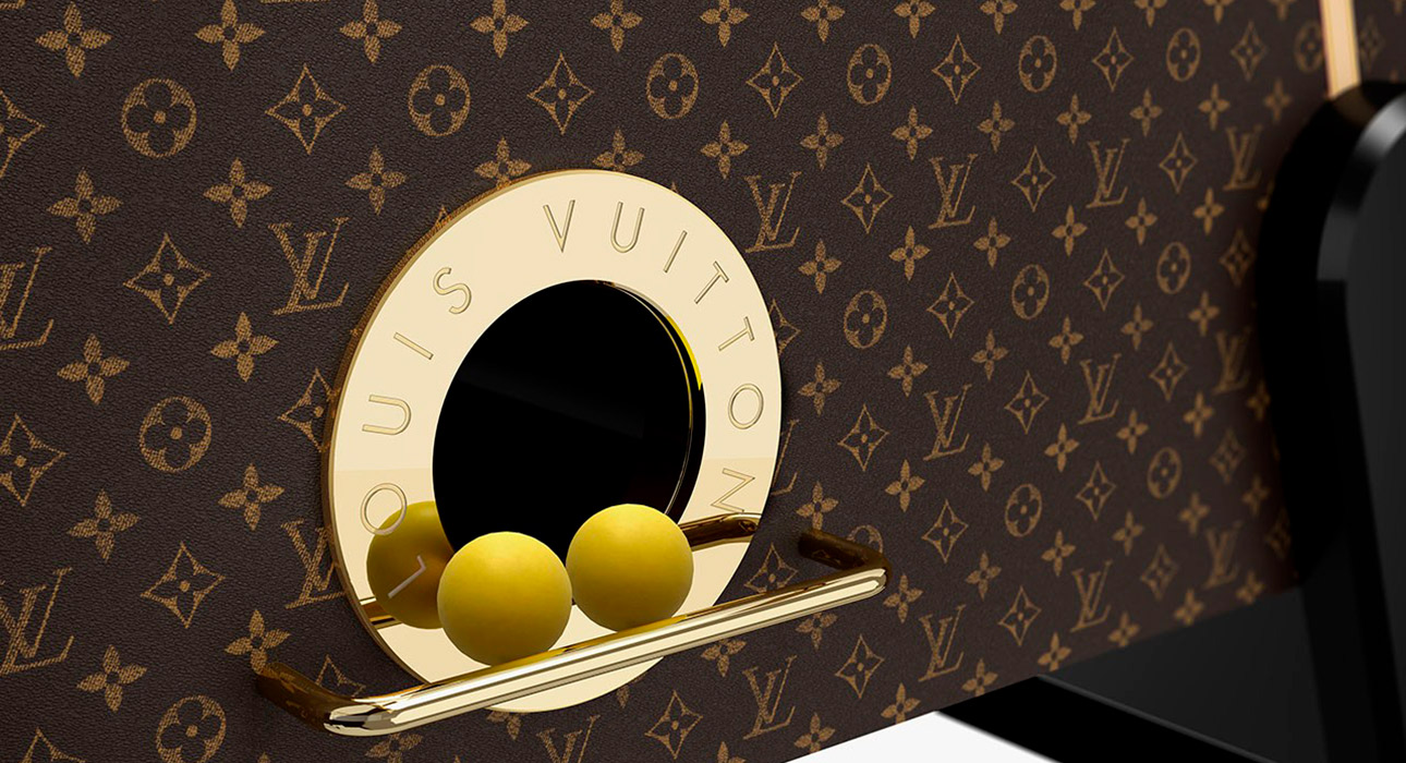 Le Babyfoot — настольный футбол Louis Vuitton