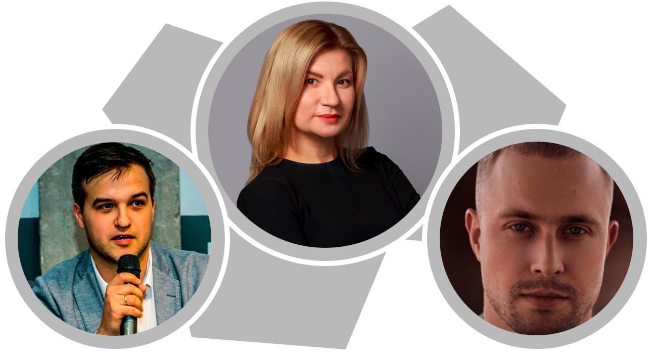 Финансы и инвестиции: Анна Казакова, 29 лет, «Тинькофф Банк»; Денис Ефремов, 29 лет, Da Vinci Capital; Арсений Громов, 30 лет, Rambler Group