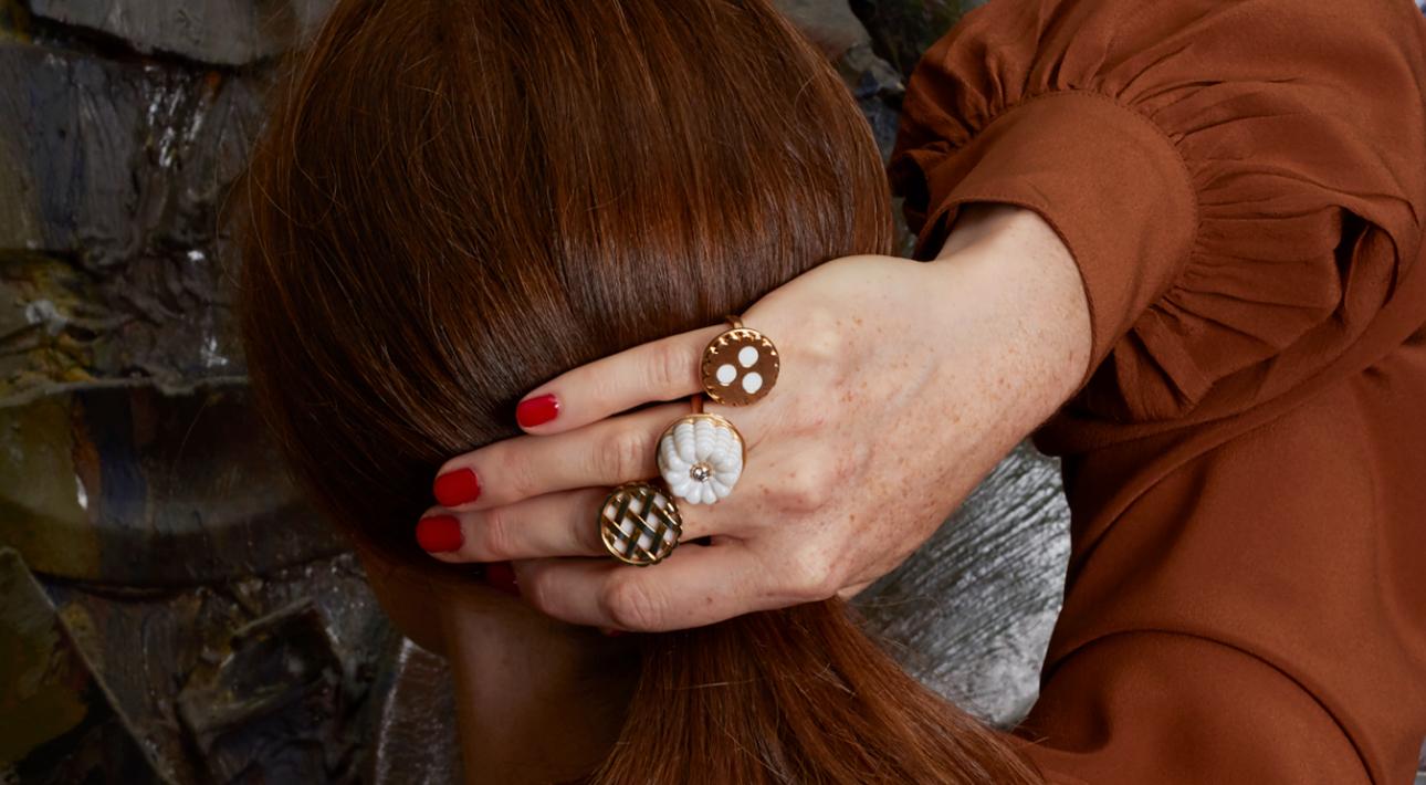 Cora Sheibani jewellery, коллекция Colour & Contradiction