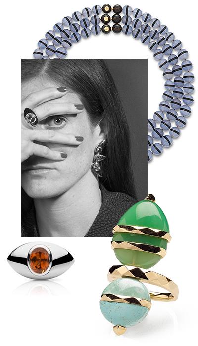 Ювелирный дизайнер Кора Шейбани и ее коллекция Colour & Contradiction