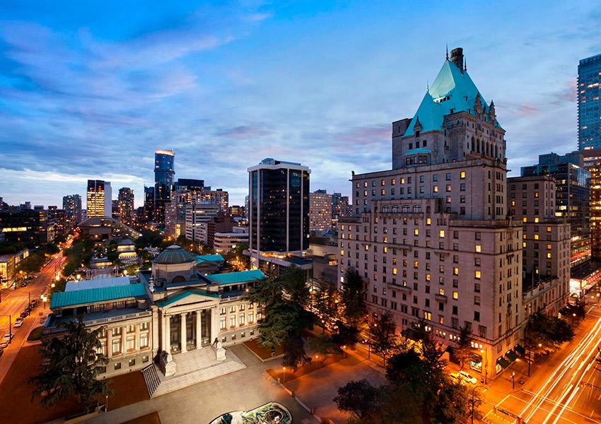 Fairmont Hotel Vancouver (Ванкувер)