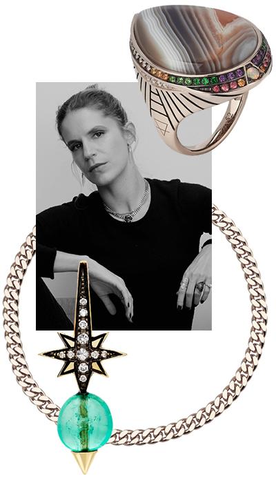 Британский ювелирный бренд Venyx основала дизайнер Евгения Ньярчос