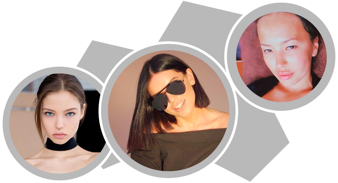 Мода и дизайн: Алеся Кафельникова, 21 год, модель; Алиса Ушакова, 27 лет, USHATAVA; Вероника Хан, 30 лет, PETRA
