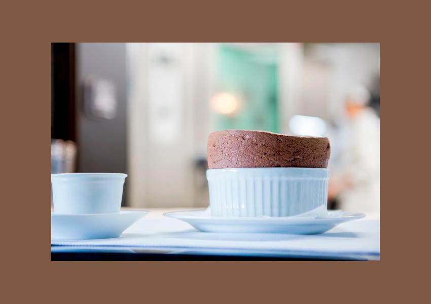 Рецепт шоколадного суфле