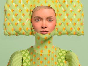Первая капсула 3D-одежды Alena Akhmadullina
