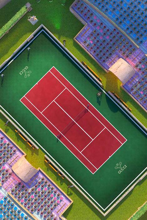 Модный дом Gucci объявил о грядущем выпуске коллаборации с Tennis Clash