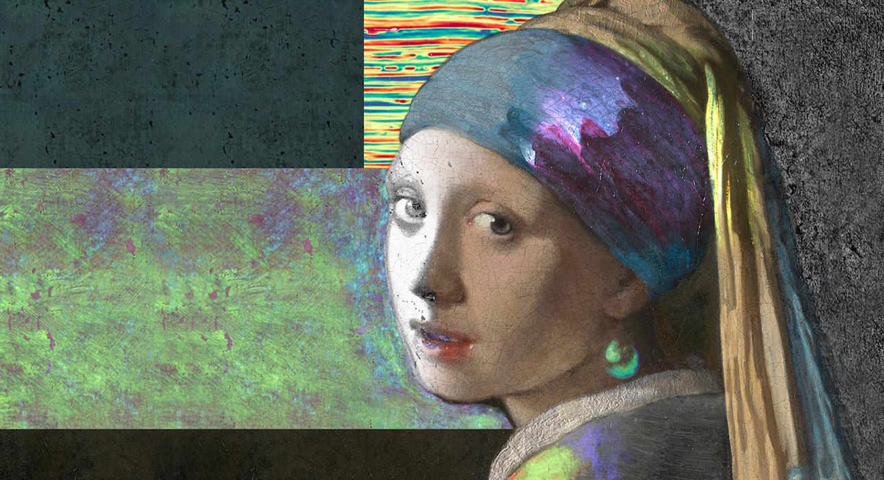 У «Девушки с жемчужной сережкой» изначально были ресницы, другой фон и более яркие цвета