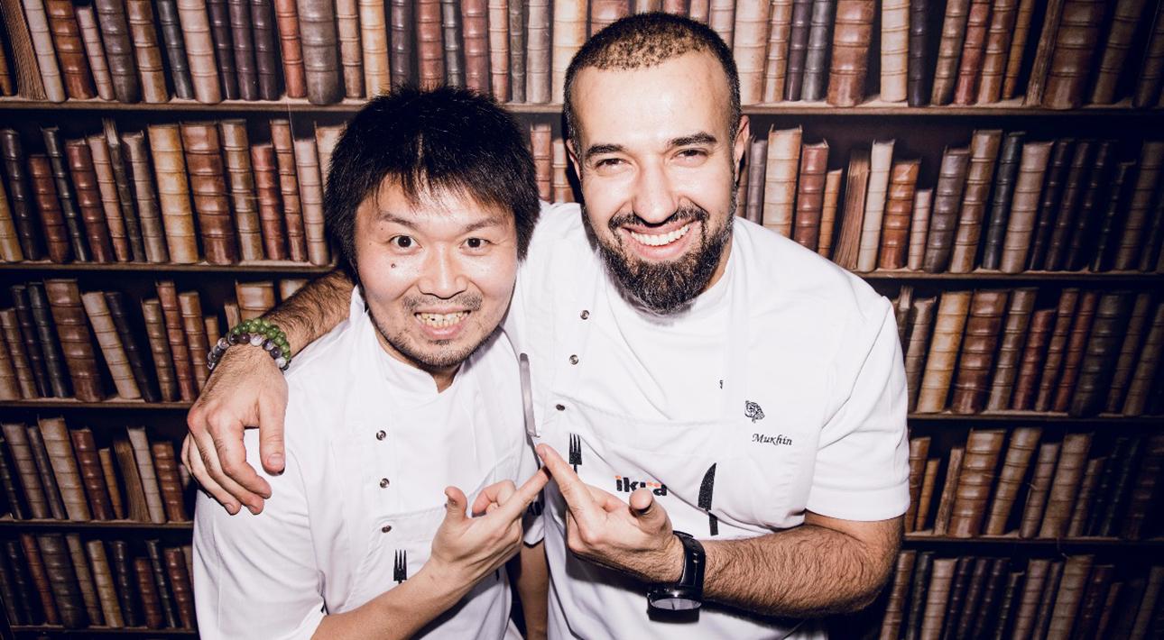 Ресторан дома: интерактивный онлайн-ужин «Владимир Хасегава и Зайю Мухин»